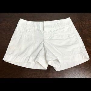 Ralph Lauren Cotton White Shorts Girls Sz 7 EUC